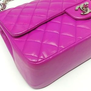 CHANEL Bags - MORE PHOTOS CHANEL Fucshia Pink Valentine Flap